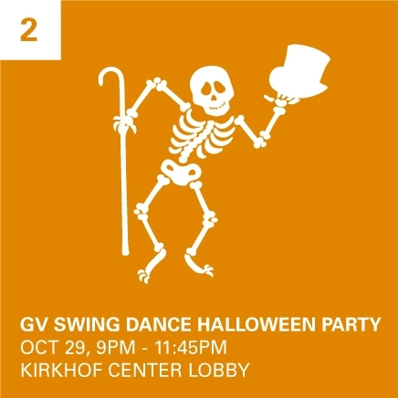 Swing Dance Halloween Party